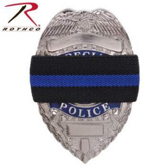 Rothco Thin Blue Line Police Mourning Band