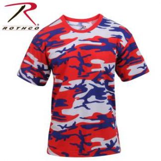 Red White and Blue Camo